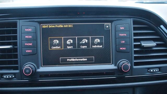 Leon CUPRA Drive Profile