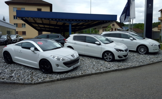 Garage Peugeot Probefahrt
